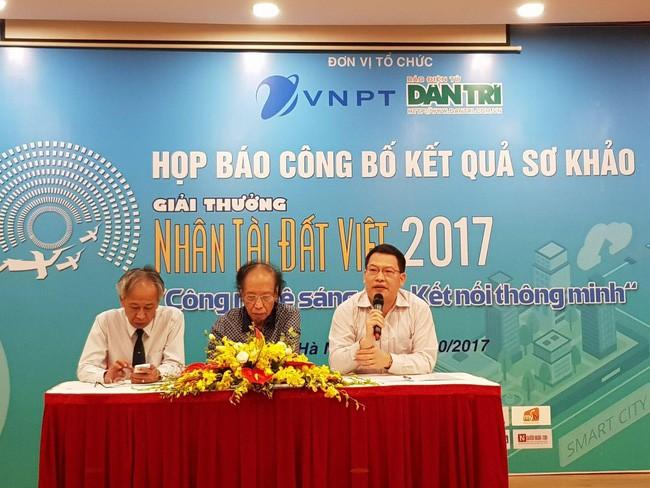 17 sản phẩm lĩnh vực công nghệ thông tin lọt vào vòng Chung khảo Giải thưởng Nhân tài Đất Việt 2017