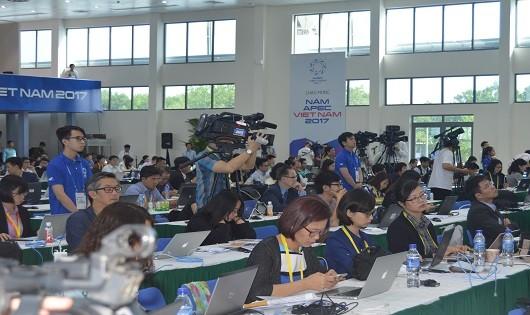 Giữ thông tin xuyên suốt, VNPT hỗ trợ tích cực tác nghiệp báo chí tại tuần lễ APEC 2017