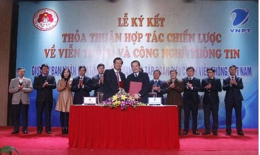 UBND tỉnh Tuyên Quang sẽ tạo điều kiện thuận lợi cho VNPT triển khai, chuyển giao các tiến bộ khoa học, công nghệ về VT-CNTT