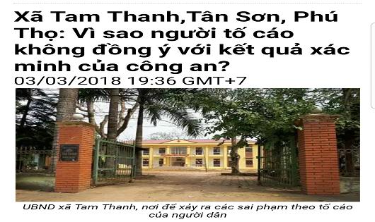 Những sai phạm tại UBND Tam Thanh cần sớm được giải quyết triệt để.