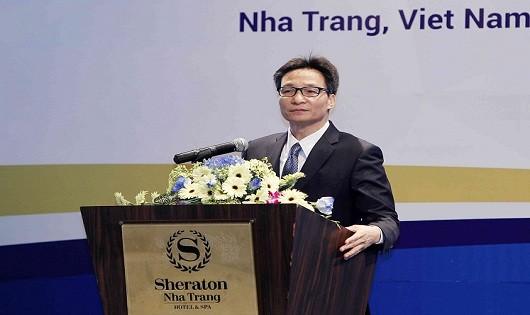 Phó Thủ tướng Chính phủ Vũ Đức Đam tham dự và phát biểu tại Hội nghị