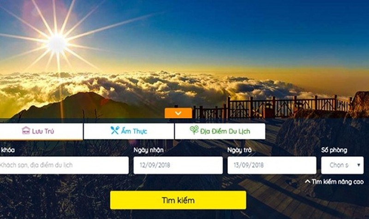 giao diện phần mềm Du lịch thông minh tại Lào Cai