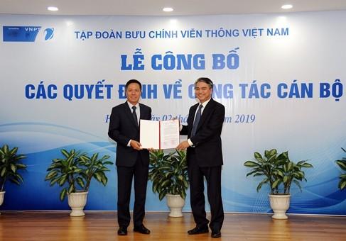 Ông Tô Dũng Thái được bổ nhiệm làm Phó Tổng giám đốc Tập đoàn VNPT