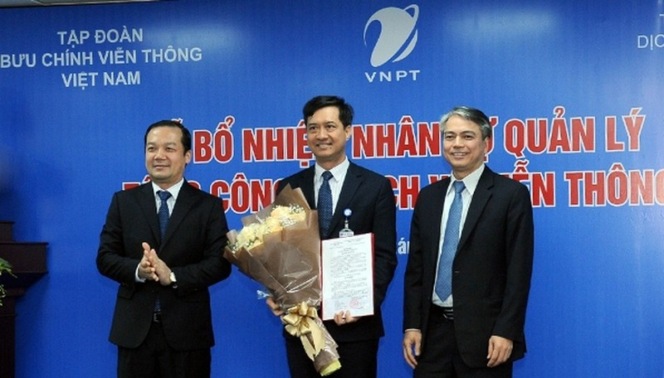 Ông Nguyễn Nam Long được bổ nhiệm giữ chức vụ Tổng Giám đốc VNPT-VinaPhone.