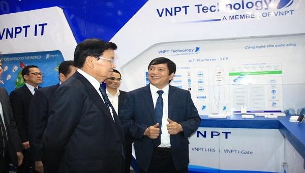 Giải pháp của VNPT giúp Lào xây dựng Chính phủ số