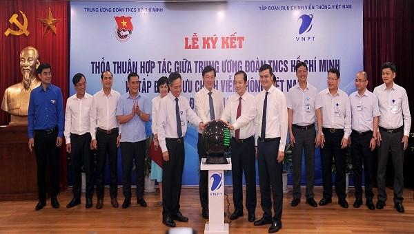 VNPT và Trung ương Đoàn hợp tác toàn diện