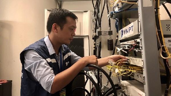 VNPT bảo đảm dịch vụ viễn thông - CNTT cho Diễn đàn Khởi nghiệp sáng tạo Hà Nội 2019