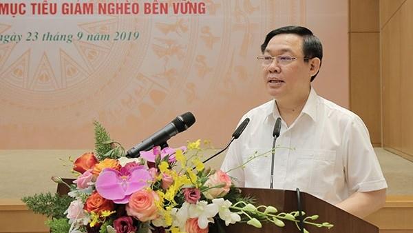 Phó Thủ tướng Vương Đình Huệ phát biểu tại Hội nghị