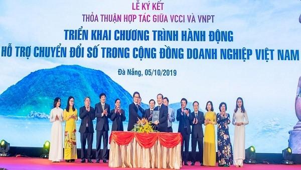 VCCI cùng VNPT hợp tác để đẩy nhanh quá trình chuyển đổi số