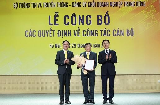 Ông Nguyễn Hải Thanh làm Chủ tịch Hội đồng Thành viên Tổng công ty Bưu điện Việt Nam