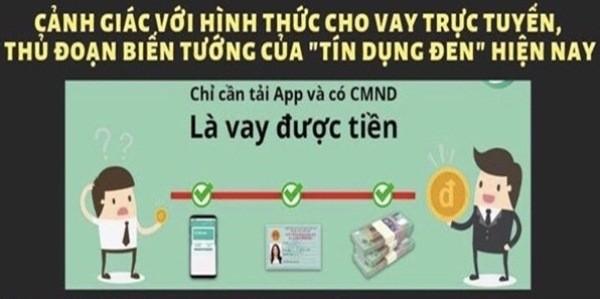 Cảnh báo 'tín dụng đen' qua ứng dụng điện thoại, lãi suất... 1.600 %/năm