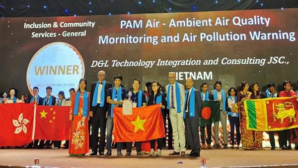 Đây là lần thứ 2 một sản phẩm của Việt Nam đoạt cúp Winner Giải thưởng APICTA.