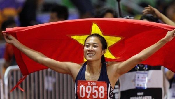 VĐV Tú Chinh đoạt Huy chương Vàng nội dung 100m nữ