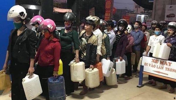 Bộ Công Thương khuyến cáo người dân không nên mua tích trữ xăng dầu