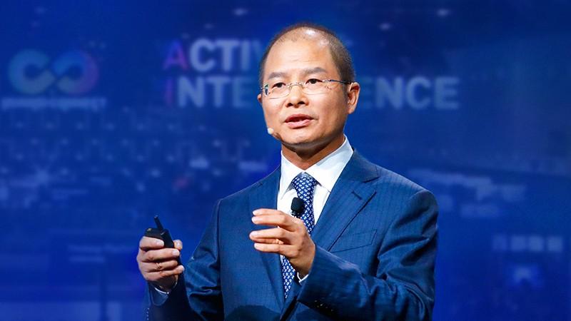 Ông Eric Xu - Chủ tịch luân phiên của Huawei.