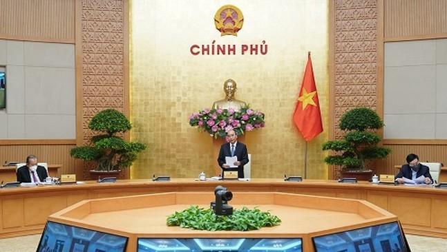 Thủ tướng Nguyễn Xuân Phúc chủ trì Hội nghị của Chính phủ với các địa phương về các giải pháp ứng phó với dịch COVID-19.