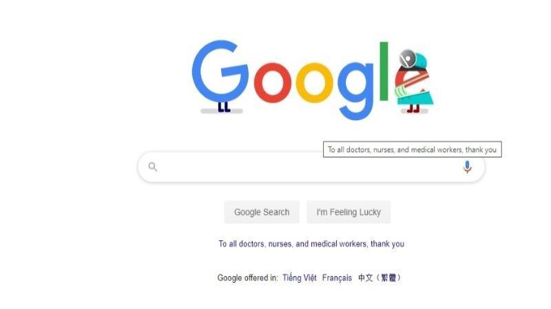 Google khởi xướng tri ân các y bác sĩ chống COVID-19