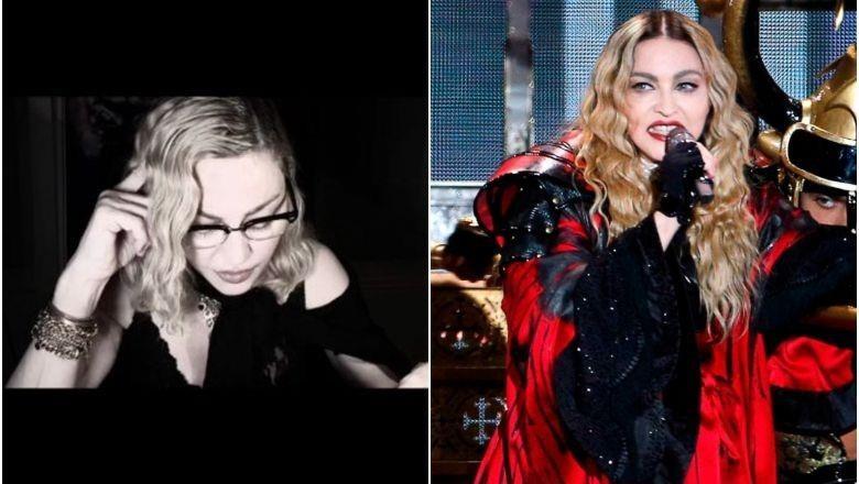 Madonna dương tính với virus corona