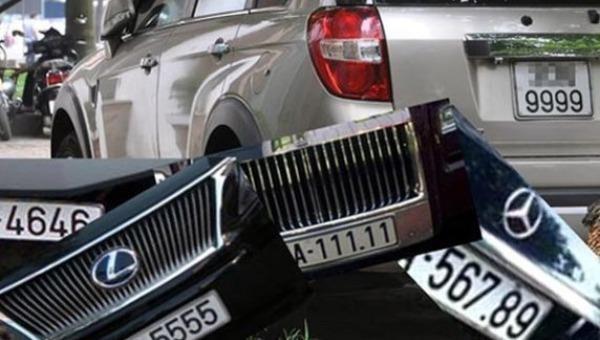 Bộ Công an đề xuất phương án trả phí để được chọn biển số xe