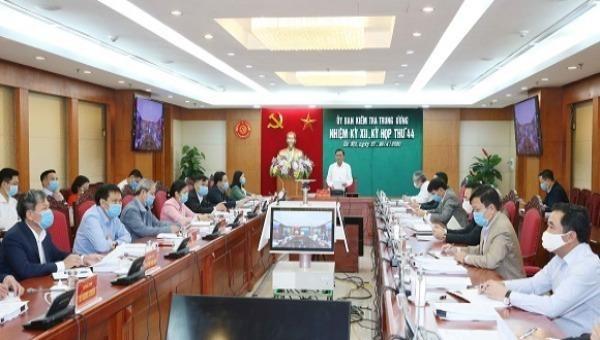 Ủy ban Kiểm tra Trung ương đề nghị khai trừ Đảng nguyên Thứ trưởng Bộ Quốc phòng