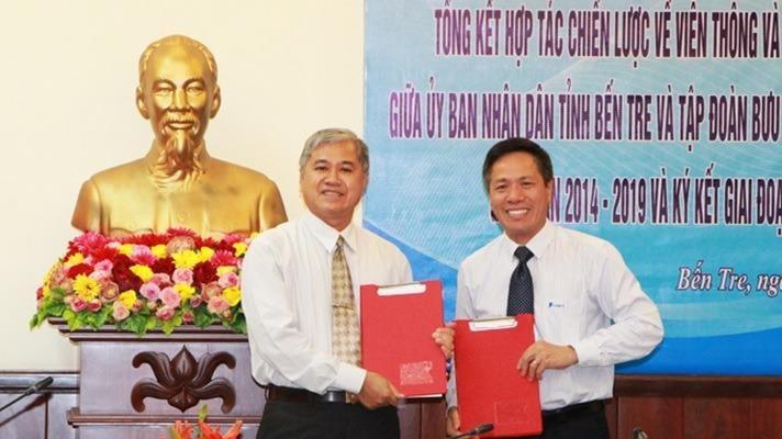 05 năm hợp tác thành công, Bến Tre tiếp tục tin tưởng lựa chọn VNPT