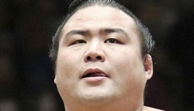 Võ sĩ sumo Shobushi, chụp ngày 11/2/2018. Ảnh: Kyodo