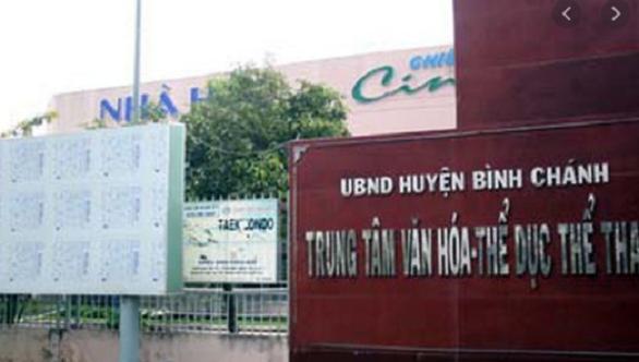 Riêng Trung tâm Văn hóa thể thao huyện Bình Chánh đã có đến 7 địa chỉ cho thuê không đấu giá và không xin ý kiến của UBND TP theo quy định.