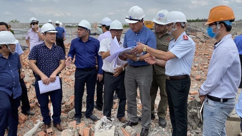 Thứ trưởng Xây dựng yêu cầu phong toả hiện trường, xác định nguyên nhân sự cố tại công trình khiến 10 người tử vong ở Đồng Nai
