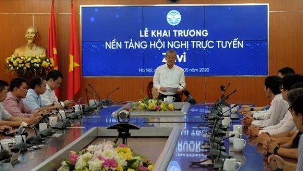 """Ra mắt nền tảng hội nghị trực tuyến """"make in Vietnam"""" Zavi - đối thủ mới của Zoom và Facebook Mesenger Rooms"""