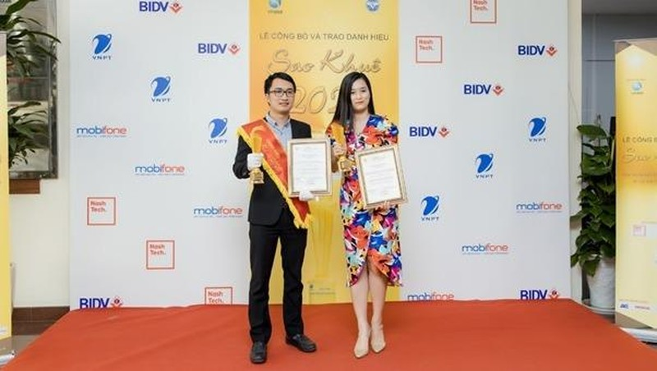 Giải pháp Giám sát giao thông và Văn phòng điện tử của MobiFone được tôn vinh tại Sao Khuê 2020