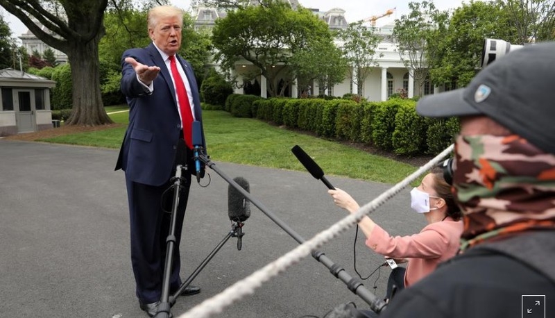Tổng thống Trump xác nhận Mỹ rút khỏi Hiệp ước bầu trời mở