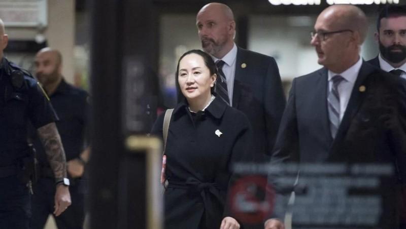 """""""Công chúa Huawei"""" Mạnh Vãn Châu có thể được tự do vào tuần tới"""