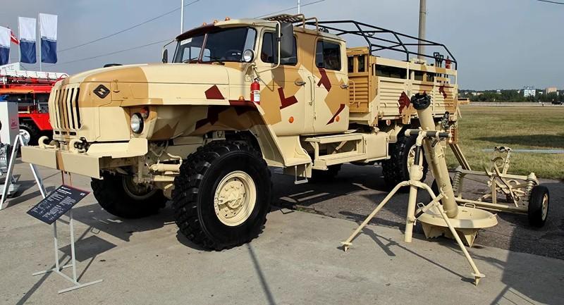 Quân đội Nga được trang bị lô súng cối đáng gờm