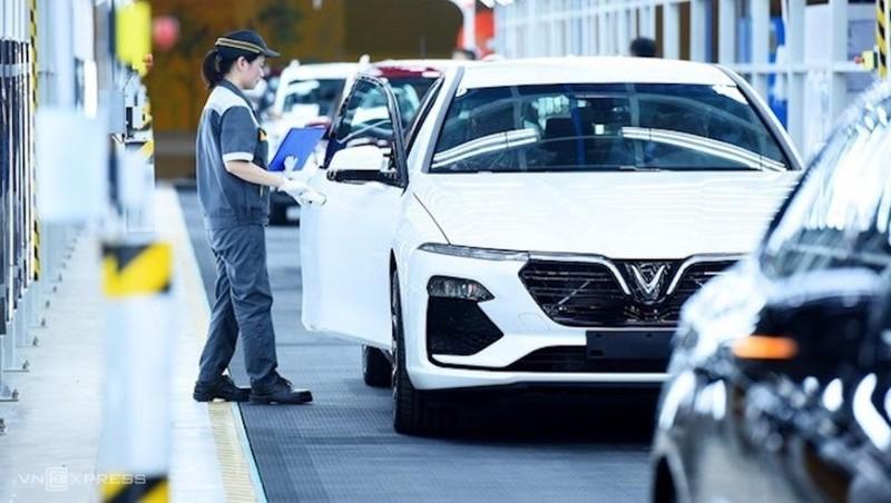 Chính phủ chính thức cho phép giảm phí trước bạ 50% đối với xe trong nước