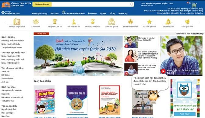 Hội sách trực tuyến quốc gia tại địa chỉ: book365.vn.