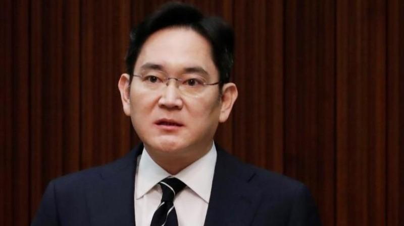 Phó chủ tịch Samsung Electronics Jay Y. Lee phát biểu trong cuộc họp báo tại tòa nhà văn phòng của công ty ở Seoul, Hàn Quốc, ngày 6/5/2020. REUTERS