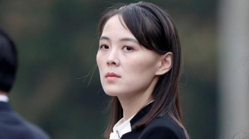 Kim Yo-jong, em gái của nhà lãnh đạo Triều Tiên Kim Jong Un. Ảnh: REUTERS