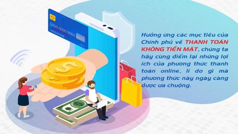 Thanh toán online, lợi ích liền tay