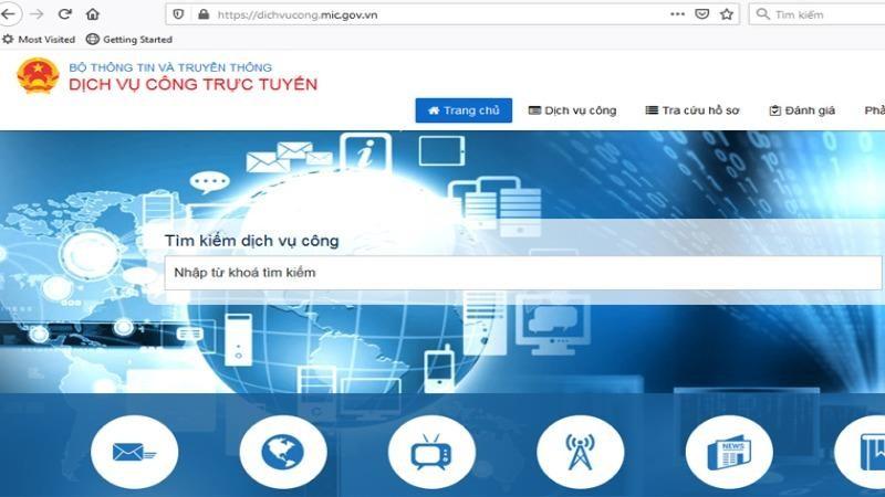 Bộ Thông tin và Truyền thông đã đưa 100% dịch vụ công trực tuyến lên mức 4