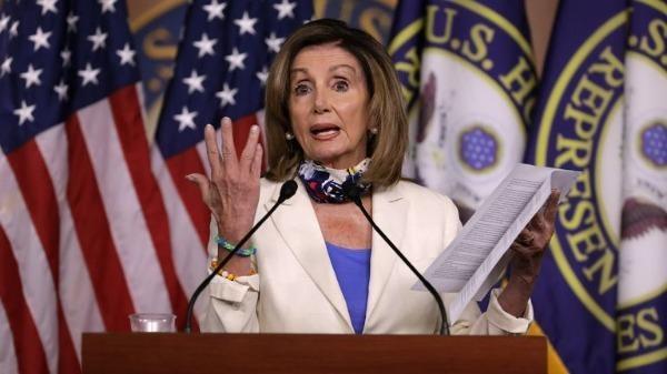 Chủ tịch Hạ viện Mỹ Nancy Pelosi - Ảnh: Reuters.