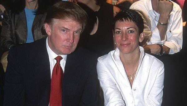 Ông Donald Trump và bà Ghislaine Maxwell tại một sự kiện năm 2000 tại thành phố New York. Ảnh: Getty Images