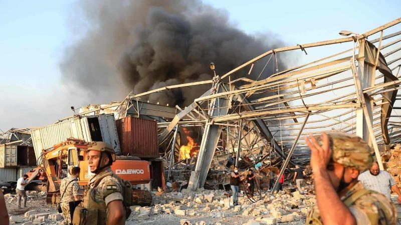 Nổ lớn ở thủ đô của Lebanon, hơn 4.000 người thương vong