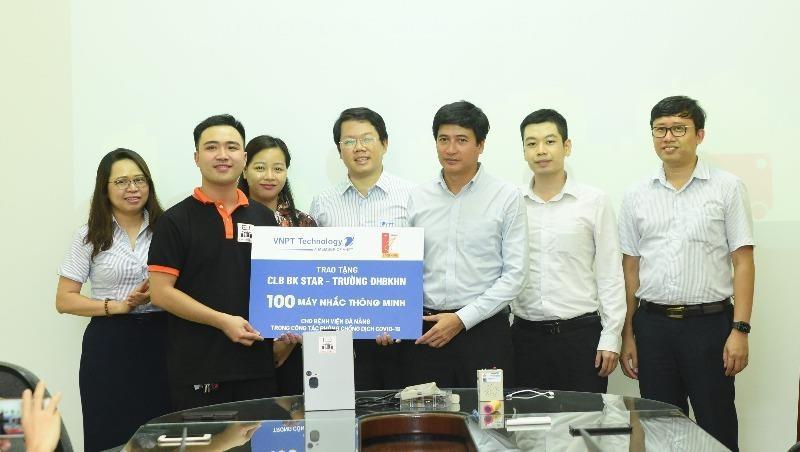 100 máy nhắc thông minh sẽ được tặng cho Bệnh viện Đà Nẵng