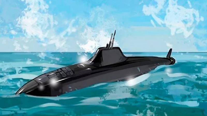 """Tàu đa năng thuộc đề án """"Khasky"""". Ảnh: Cục kux thuật hàng hải Malakhit."""