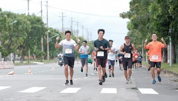 Một buổi chạy đóng góp km cho UpRace 2019.