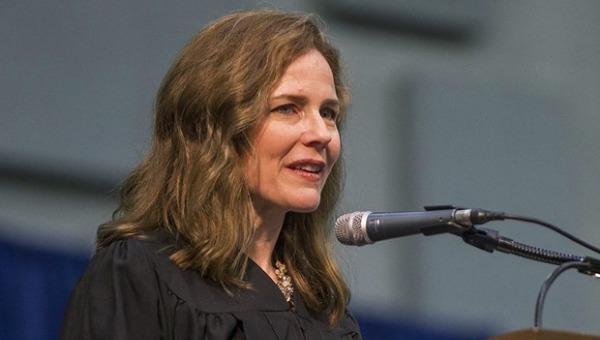 Thẩm phán tòa phúc thẩm theo đường lối bảo thủ Amy Coney Barrett. (Ảnh: Bloomberg).