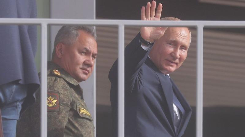 Tổng thống Vladimir Putin cuối tuần qua tại cùng Astrakhan của Nga.