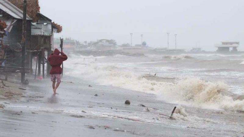 Bão Goni đã quét qua Phillipines.