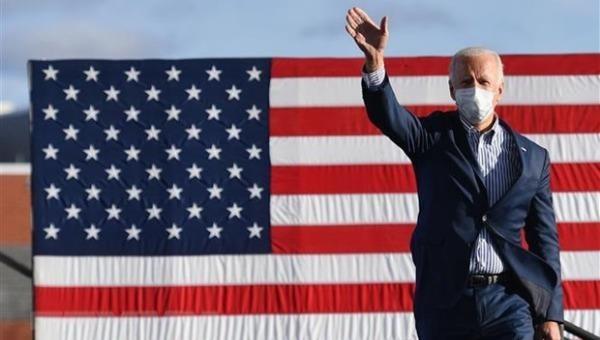 Ứng cử viên Tổng thống Mỹ Joe Biden.