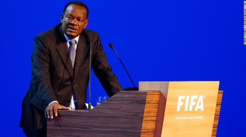 Yves Jean-Bart phát biểu trong Đại hội lần thứ 64 của FIFA.